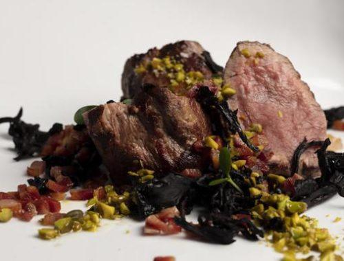 receta con pistachos